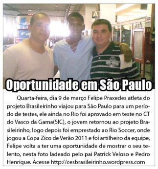 Felipe em São Paulo
