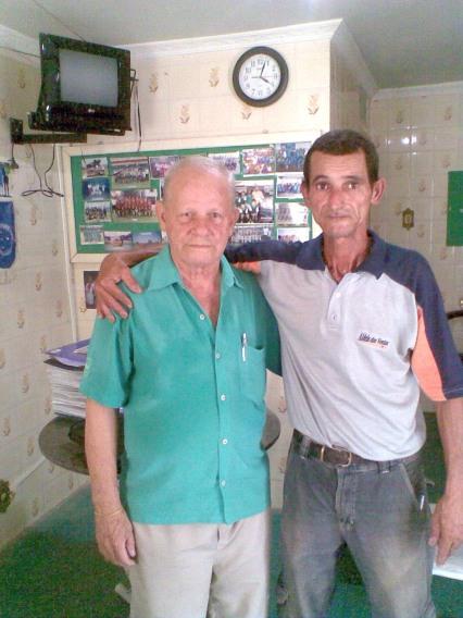 Sr Jorge Passos Liga Rio Copa e Seu Geninho