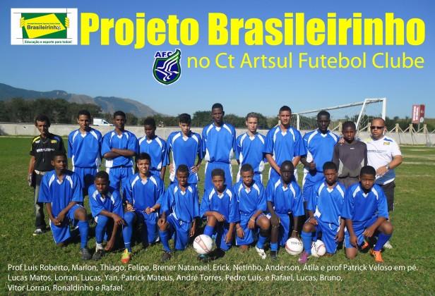 Foto Projeto Brasileirinho Ct Artsul.