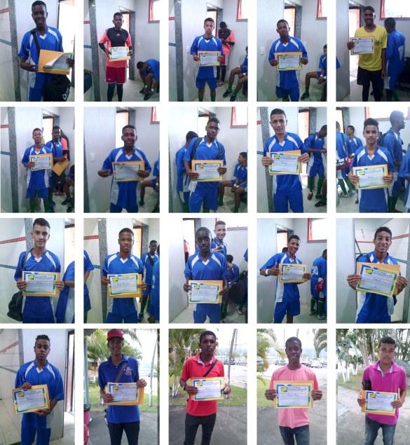 Diplomas de Participação na Copa Zico 2013