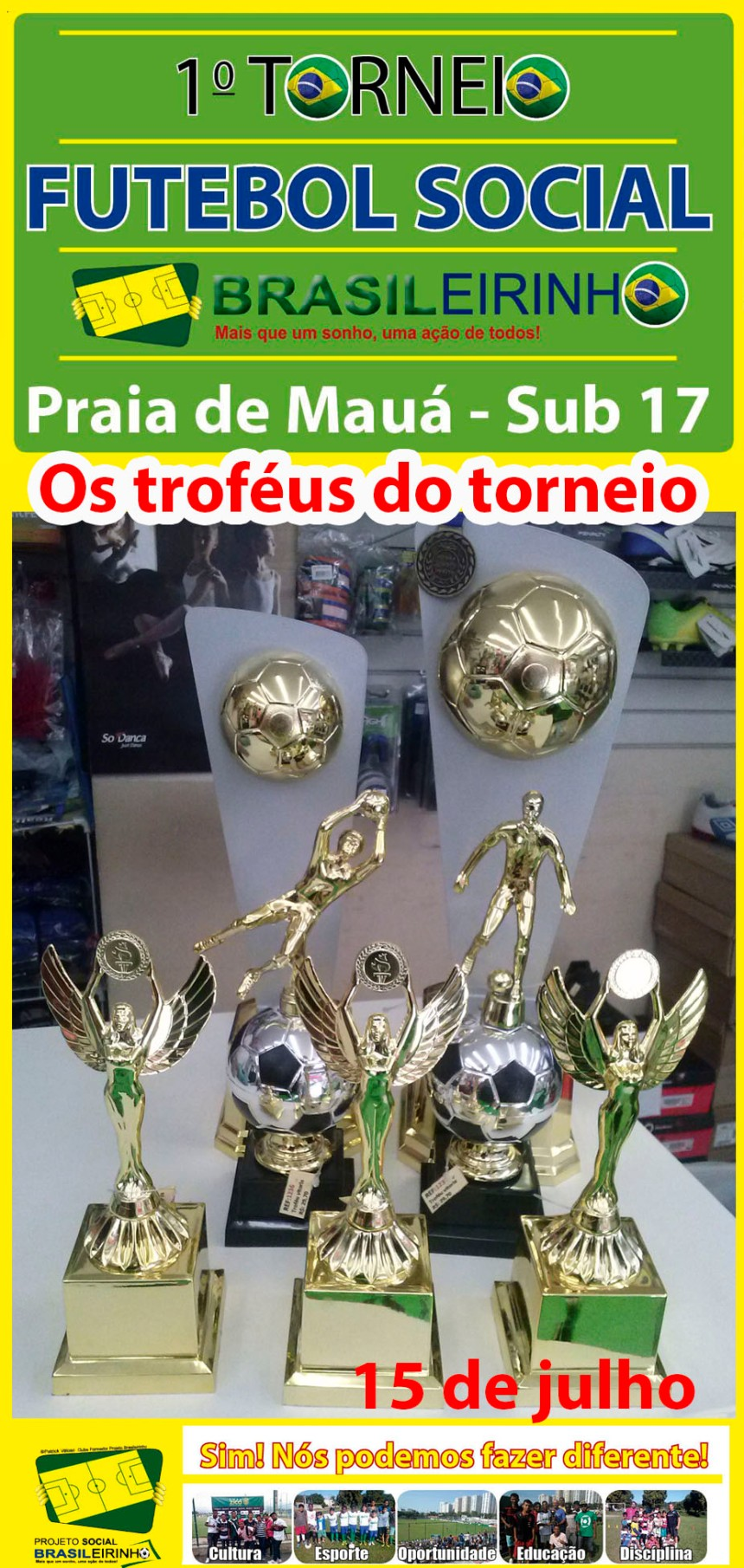 banner trofeus