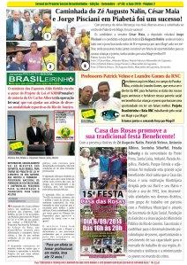 Jornal Informativo Projeto Brasileirinho Edição Setembro  edição 56-14-Pagina 02