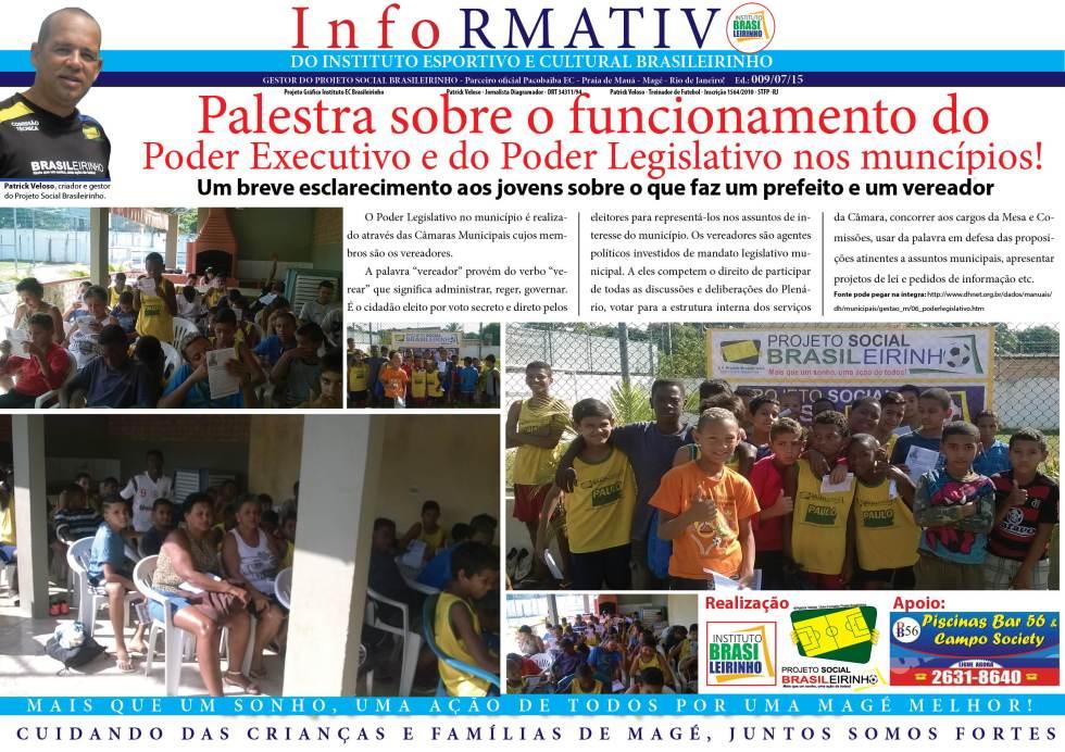 Informativo comentarista  ed 008 -06-2015