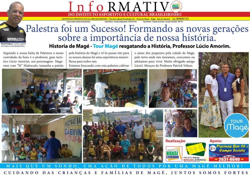 Informativo comentarista  ed 010 -07-2015