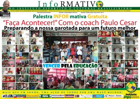 Palestra INFORmativa Gratuita_Faça_acontecer ed 023 -08-2015