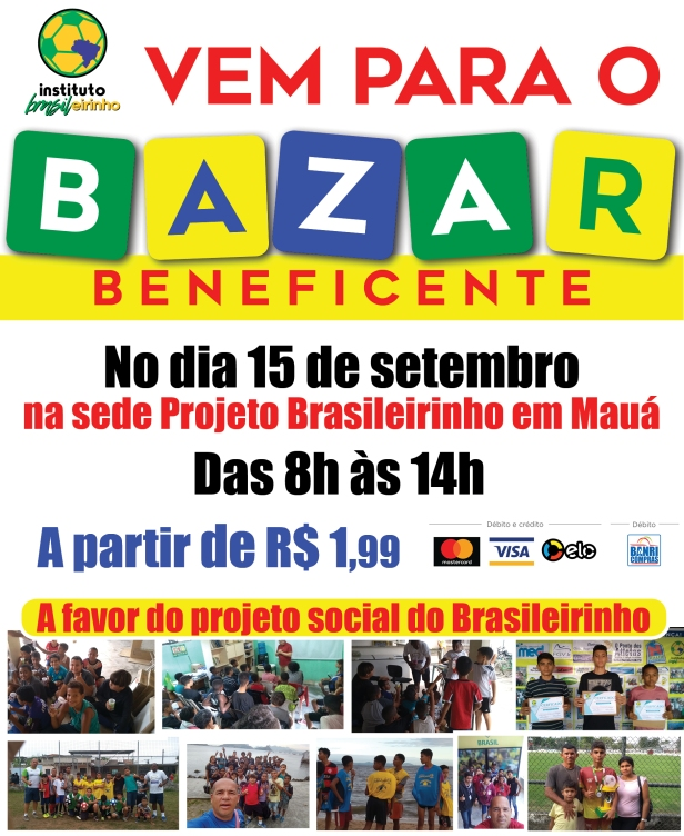 2_Bazar Solidário do Projeto Brasileirinho